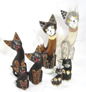 Ornamental Cats & Other Animals